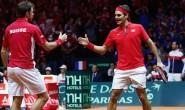 Coppa Davis: Wawrinka e Federer vincono la finale del doppio