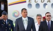 RAFAEL CORREA, ULTIMI VIAGGI INTERNAZIONALI COME PRESIDENTE DELL'ECUADOR, GENOVA E MILANO LE TAPPE PRINCIPALI