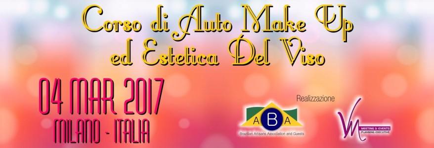 VANESSA MEDEIROS MEETINGS & EVENTS PLANNING EXECUTIVE PRESENTA: CORSO DI AUTO MAKE UP ED ESTETICA DEL VISO