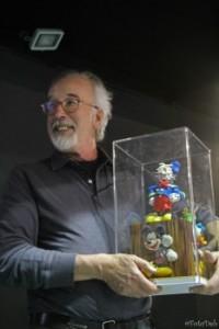 Giorgio Cavazzano premiato a Cartoomics