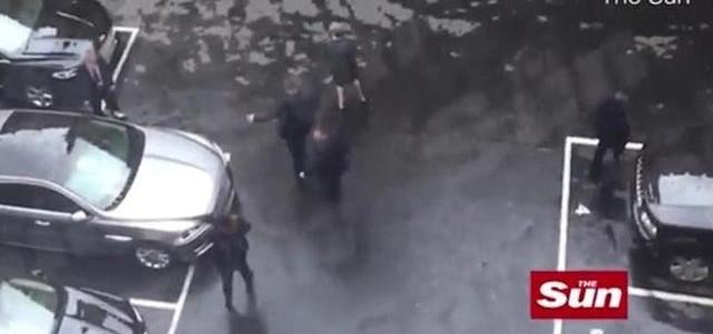 IL VIDEO DELLA FUGA DI THERESA MAY AL MOMENTO DELL ATTENTATO DI LONDRA