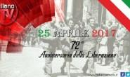 25 APRILE 72° ANNIVERSARIO DELLA LIBERAZIONE