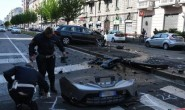 INCIDENTE MORTALE A MILANO VIALE MONZA