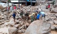 PUTUMAYO COLOMBIA: TRAGEDIA, 154 MORTI, 400 FERITI E 220 DISPERSI PER LO STRARIPAMENTO DI TRE FIUMI A MOCOA