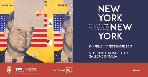 """""""NEW YORK NEW YORK. ARTE ITALIANA: LA RISCOPERTA DELL'AMERICA"""""""
