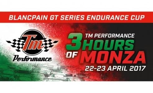 TM titolo Prestazioni sponsor di 3 ore di Monza