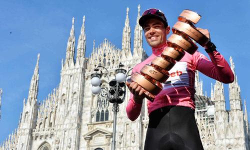 TOM DUMOULIN SCRIVE LA STORIA DEL GIRO D'ITALIA