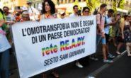 """MILANO IL GAY PRIDE PER LE VIE DI MILANO LO """"DIRITTISENZACONFINE"""""""