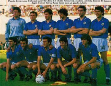 35° Anniversario della vittoria italiana del Campionato del Mondo a Madrid nel 1982