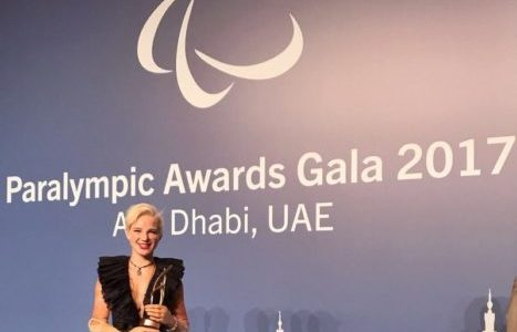 BEBE VIO VINCE IL BEST FEMALE DEBUT AI PARALYMPIC SPORT AWARDS DI ABU DHABI