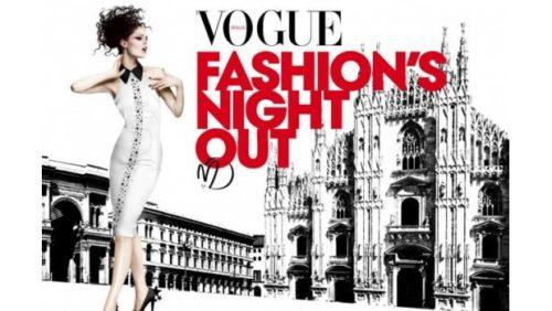 AL VIA LA VOGUE FASHION'S NIGHT OUT FOR MILANO