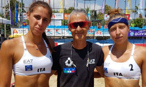 Beach Volley Europei Under 20: medaglia d'Argento per Orsi Toth-They