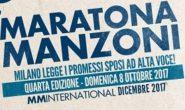 """Torna domenica 8 ottobre """"Maratona Manzoni"""""""