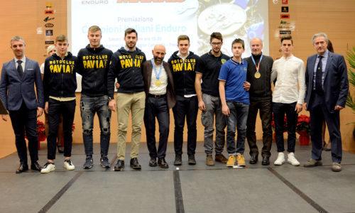 Otto titoli italiani e due prestigiose onorificenze nel formidabile 2017 del Moto Club Pavia