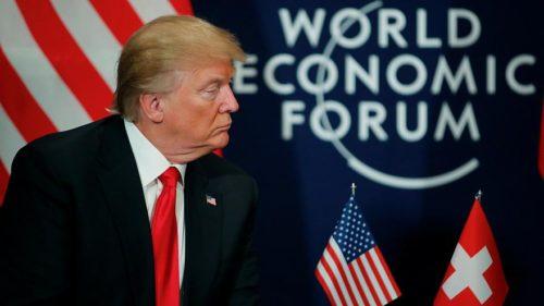 SVIZZERA: WORLD ECONOMIC FORUM, IL DISCORSO DI DONALD TRUMP A DAVOS
