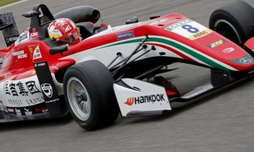 Guanyu Zhou estende la sua campagna Prema Theodore nella stagione FIA Formula 3 del 2018