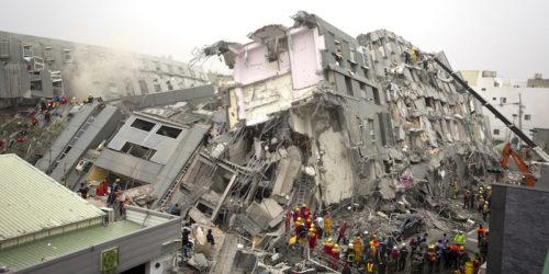 TAIWAN: TERREMOTO CROLLATO UN HOTEL A HUA-LIEN, 30 PERSONE INTRAPPOLATE ALLE MACERIE