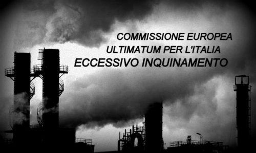 COMMISSIONE EUROPEA: ULTIMATUM PER L'ITALIA, ECCESSIVO INQUINAMENTO