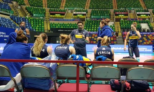 Volleyball Nations League: le azzurre da martedì in campo a Hong Kong