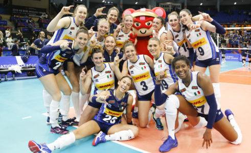 Volleyball Nations League: l'Italia concede il bis, 3-0 alla Corea del Sud