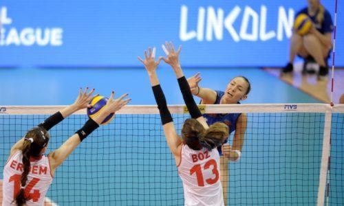 Volleyball Nations League: all'esordio le azzurre cedono alla Turchia 3-0