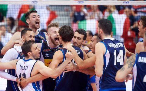 VNL Maschile: Boom Boom Italia, Brasile battuto al tie-break