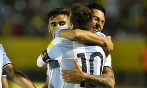ARGENTINA BATTE LA NIGERIA PER 2-1