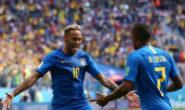 BRASILE NON DELUDE VINCE CON 2-0 CONTRO IL COSTA RICA