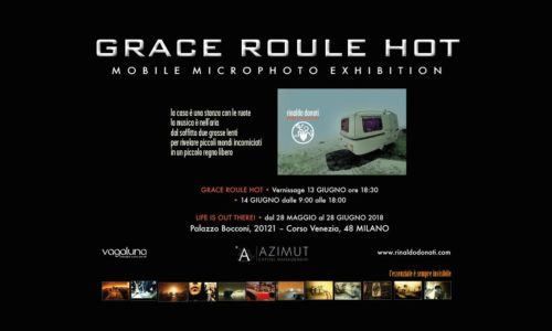 GRACE ROULE HOT • MOBILE MICROPHOTO EXHIBITION