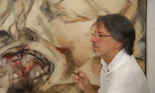 Franco Brescianini in mostra a La Montina