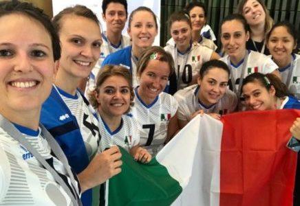 Sitting Volley: primo storico successo per le azzurre al Mondiale, 3-0 alla
