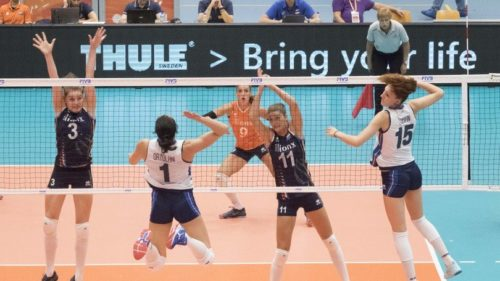 Rabobank Super Series Volleyball: le azzurre cedono all'Olanda 3-0