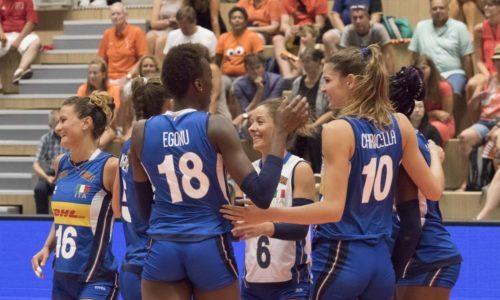 Rabobank Super Series Volleyball: bene le azzurre, battuta 3-1 la Russia