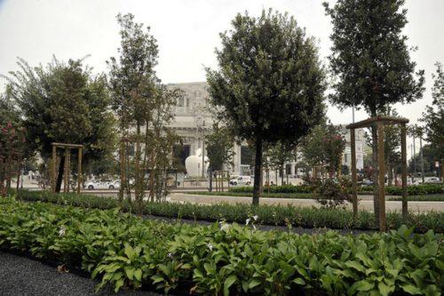 Inaugurate le aree verdi di piazza Duca d'Aosta, al via il restyling di Luigi di Savoia