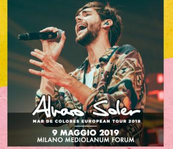 ALVARO SOLER  09 MAGGIO 2019 @ MILANO  MEDIOLANUM FORUM