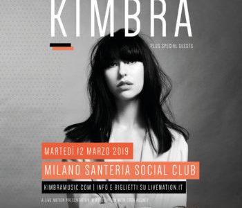 ARRIVA IN ITALIA PER UN IMPERDIBILE SHOW  KIMBRA