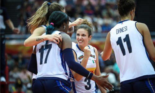 Mondiali Femminili 2018 – L'Italia è tra le sei migliori al mondo, battuta la Russia 3-1