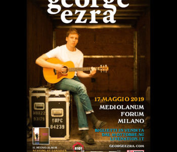 GEORGE EZRA AL MEDIOLANUM FORUM IL 17 MAGGIO 2019