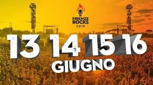 SONO GLI HEADLINER DELLA PRIMA GIORNATA DI FIRENZE ROCKS 2019
