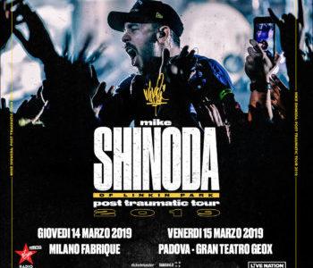 MIKE SHINODA 15 MARZO 2019 TEATRO GEOX – PADOVA