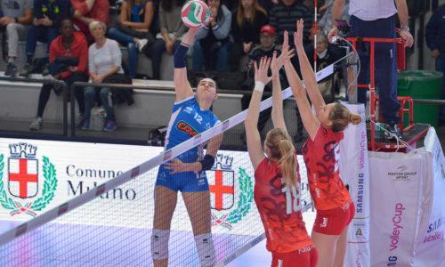 Il Club Italia CRAI Femminile domenica sfida il Bisonte Firenze