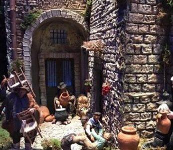 Da oggi all'Epifania il presepe di Città di Castello nel cortile di Palazzo Marino