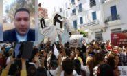 GIORNALISTA TUNISINO SI DA FUOCO PER PROTESTA
