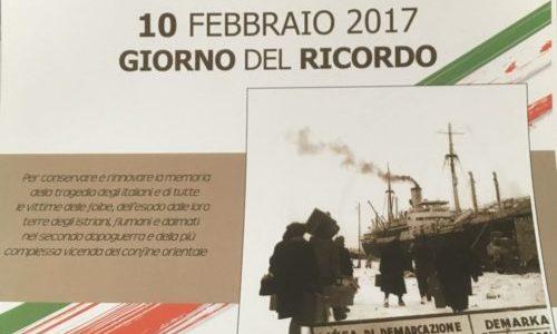 IL GIORNO DEL RICORDO PER NON DIMENTICARE L'ORRORE DELLE FOIBE