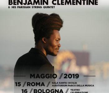BENJAMIN CLEMENTINE MERCOLEDÌ 15 MAGGIO ROMA