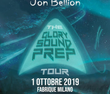 JON BELLION   MARTEDÌ 1 OTTOBRE  FABRIQUE, MILANO