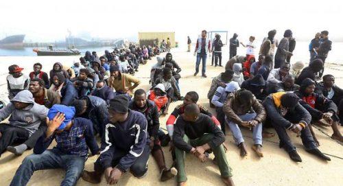 LIBIA PROFUGHI PRONTI A PARTIRE VERSO L'ITALIA