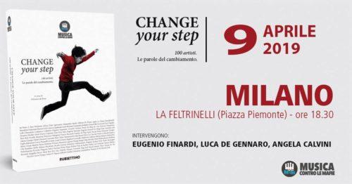 CHANGE YOUR STEP 100 ARTISTI – LE PAROLE DEL CAMBIAMENTO