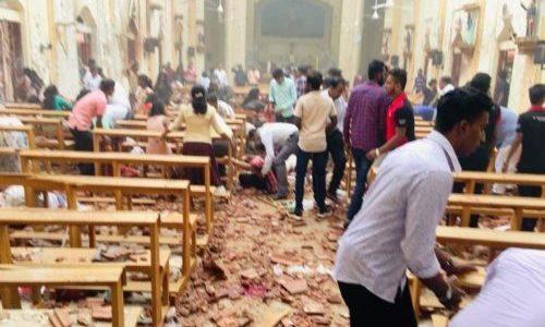 ATTENTATO IN SRI LANKA ESPLODONO SEI BOMBE IN HOTEL E CHIESE