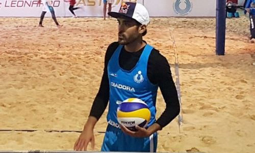 Beach Volley: infortunio alla mano destra per Daniele Lupo